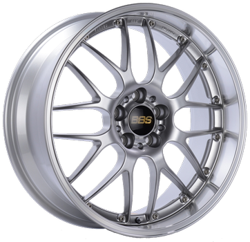 BBS RS 944 Bright Silver w/ Polished S.S. Lip: 18x8 +35