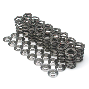 Brian Crower Valve Springs & Retainers: Steel Retainer/No Seats