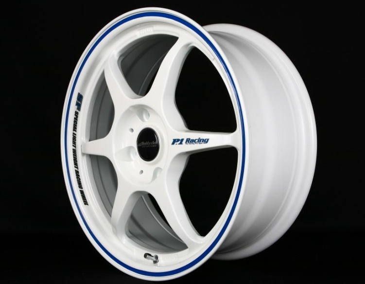 Buddy Club SF Challenge White With Blue Wheel 15