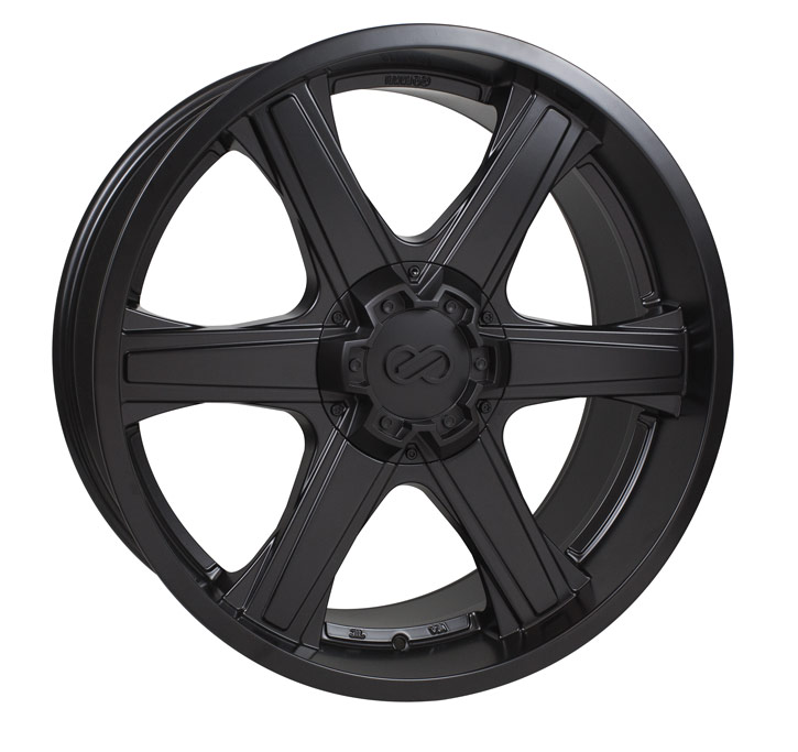 Enkei BHAWK Black Wheel: 18x8.5 +30