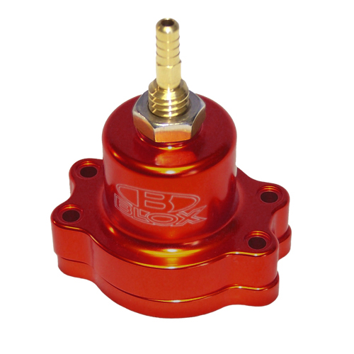 Blox Racing Adjustable Fuel Pressure Regulator: Red