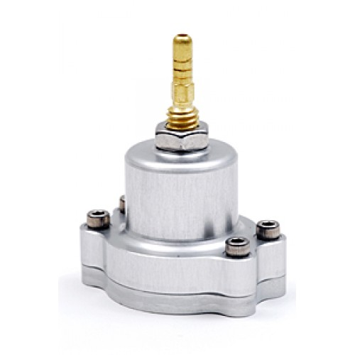 Blox Racing Adjustable Fuel Pressure Regulator: Silver