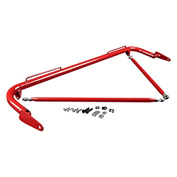 "Braum Red 48-51"" Universal Racing Harness Bar Kit"