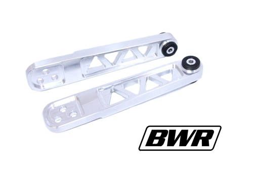 BlackWorks Racing 01-05 Civic Billet Lower Control Arms: Polished
