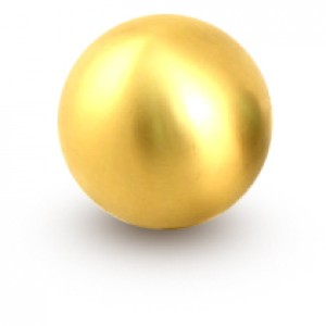 Blox Racing Gold 490 Spherical Shift Knob M10 x 1.5