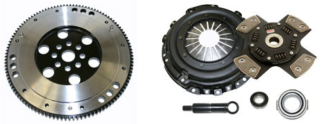 Competition Clutch Stage 5 Sprung Clutch Kit with Lightweight Flywheel