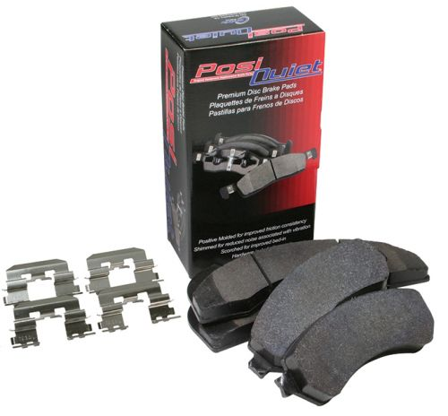 Centric 02-06 RSX Type-S Posi-Quiet Brake Pads: Front-A1