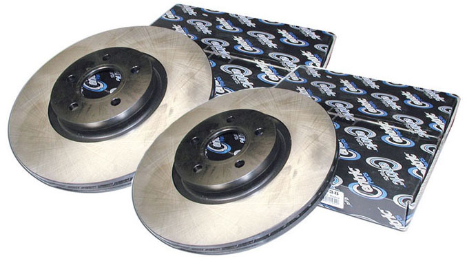 Centric 04-08 TSX / 03-07 Accord Premium Front Rotors: Pair