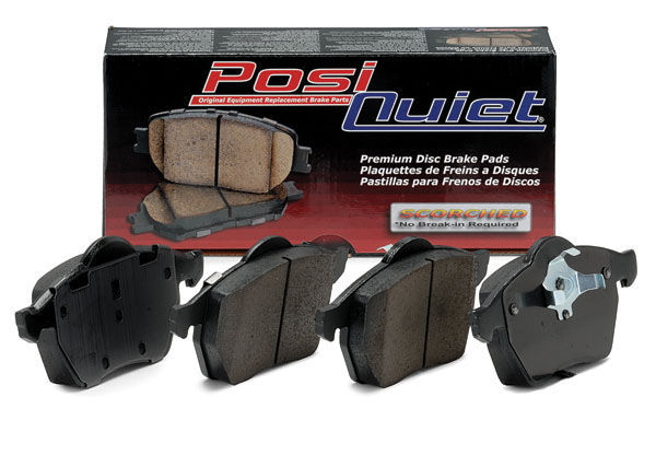 Centric 02-06 RSX / 06-11 Civic Posi-Quiet Brake Pads: Rear