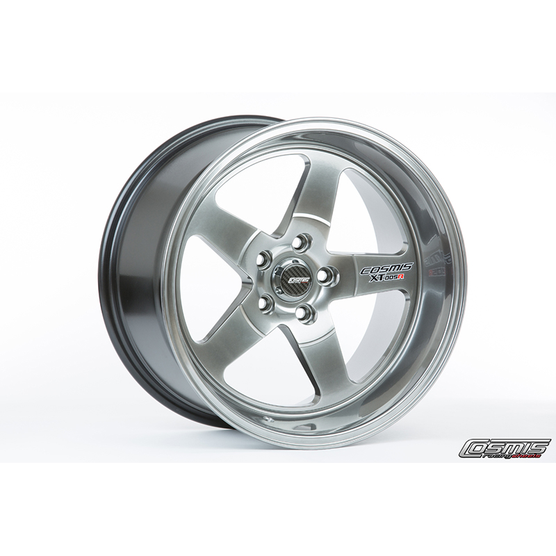 Cosmis Racing XT-005R Hyper Black Wheel: 18x9 +25