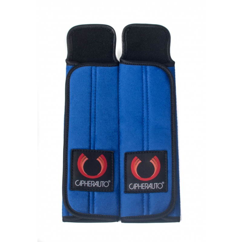 Cipher Auto Blue 3 Inch Harness Pads: 2 Pads