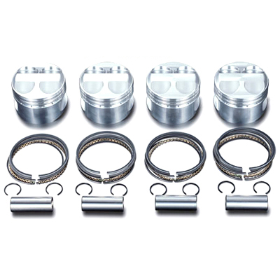 CP Pistons 87mm K-Series K20/K24 Pistons: 10 9:1 (Flat Top)