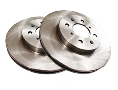 Centric Standard Front Rotors: Pair