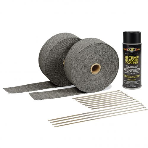 Design Engineering Black Exhaust Wrap Kit-A1