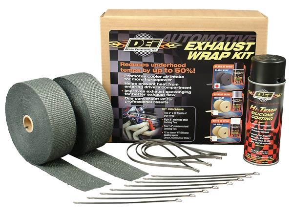 Design Engineering Exhaust Wrap Kit (Black)
