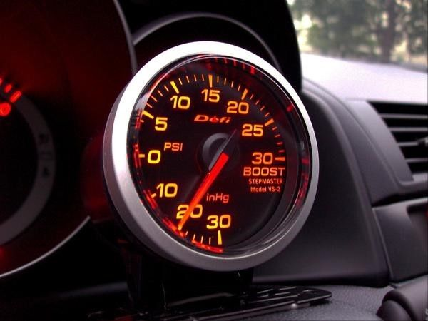 Defi 52mm Red Racer Boost Gauge