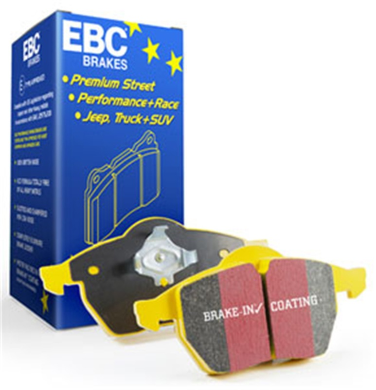 EBC Yellowstuff Front Brake Pads: Honda Accord