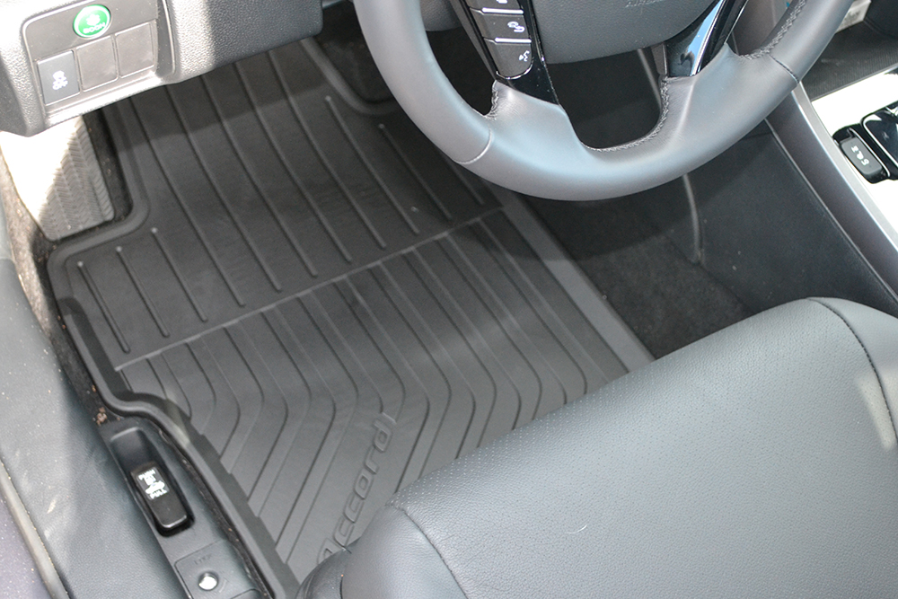 Honda 13-17 Accord Coupe All Season Front and Rear Floor Matts