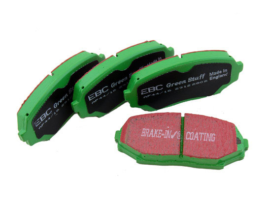 EBC Greenstuff Front Brake Pads (04-10 TSX / 03-10 Accord)
