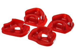 Energy Suspension 02-06 RSX / 02-05 Civic Si Engine Mount Inserts: Red-A2