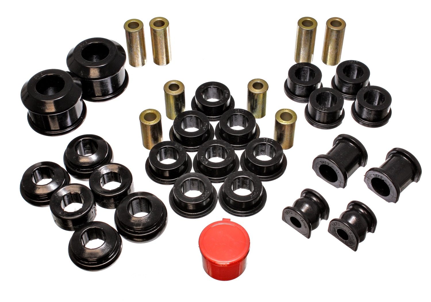 Energy Suspension 02-05 Civic Si Bushing Kit: Black
