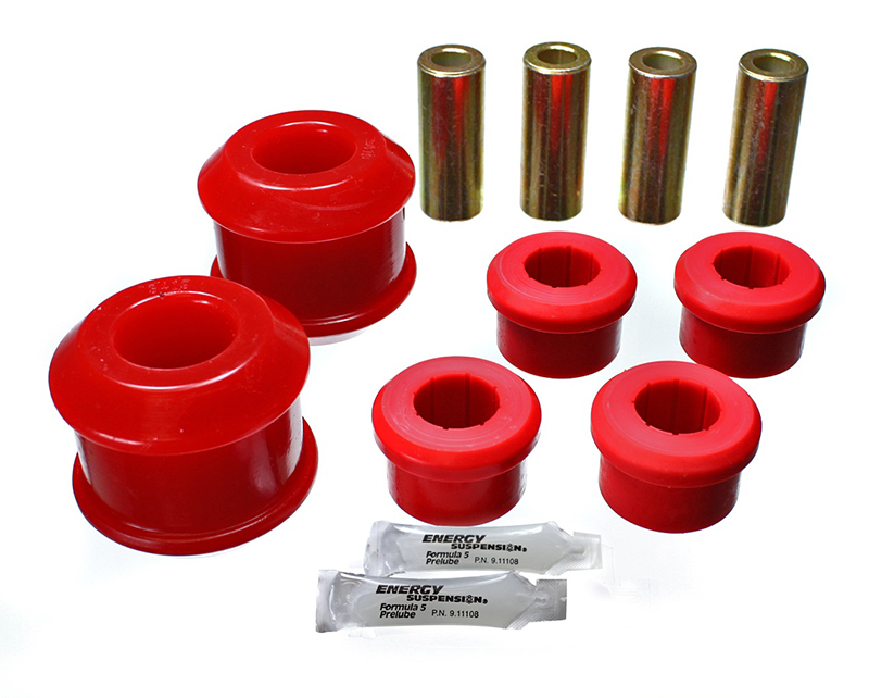 Energy Suspension Front Control Arm Bushing: Red