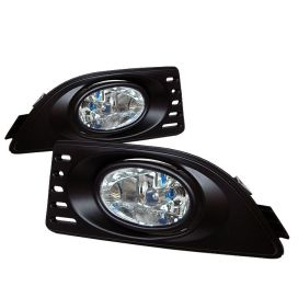 Spyder Auto 05-06 RSX Foglight Kit: Clear