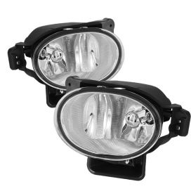 Spyder Auto 07-08 TL Foglight Kit: Clear