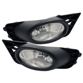 Spyder Auto 09-11 Civic Sedan Foglight Kit: Clear