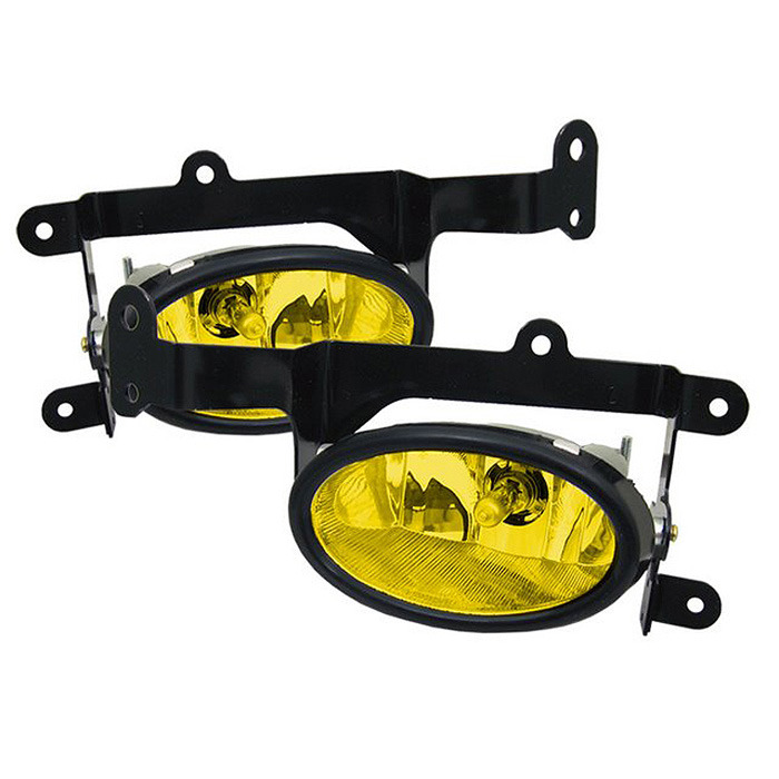 Spyder Auto 06-08 Civic Coupe Foglight Kit: Yellow