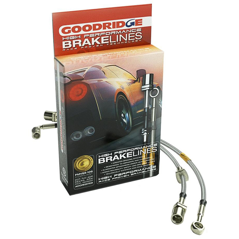 Goodridge Stainless Steel Brake Lines