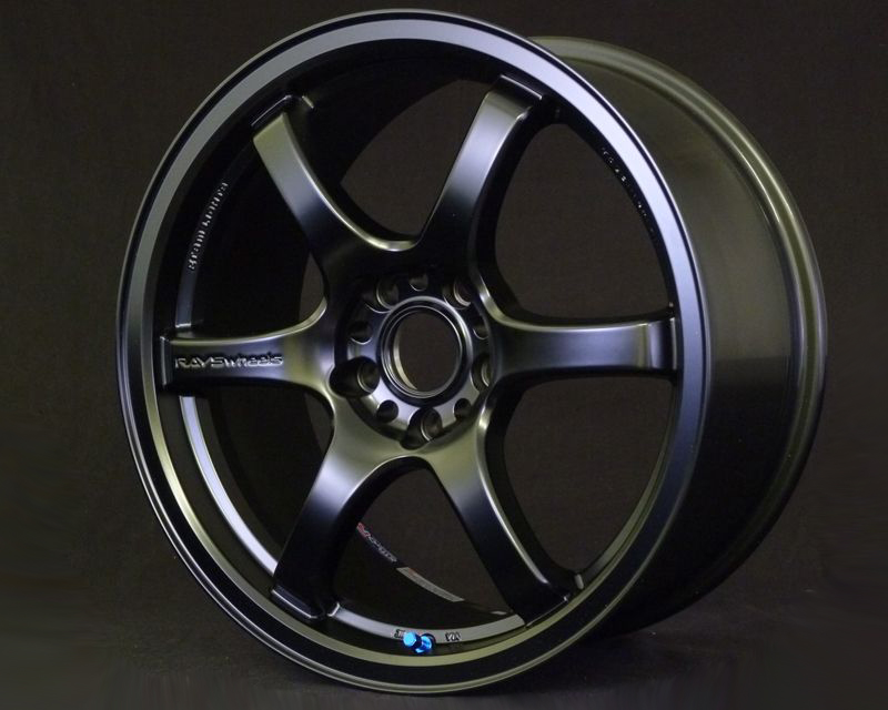Gram Lights 57DR Semi Gloss Black: 17x9 +38