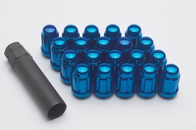 Gorilla Blue Lug Nuts: 20 Pack