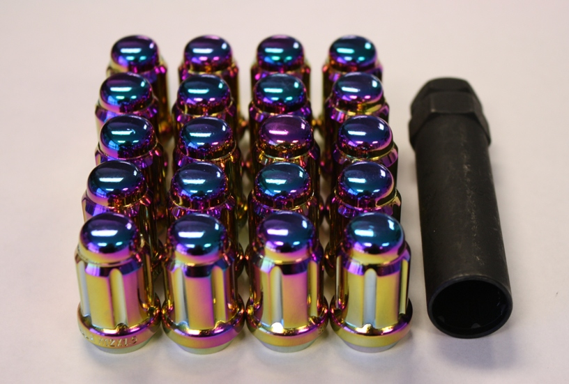 Gorilla Prizm Light Lug Nuts: 20 pack