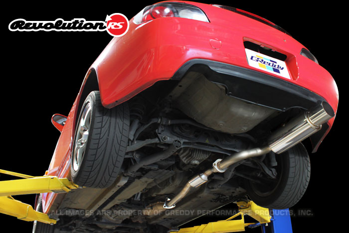 Greddy RS Evolution Cat-Back Exhaust: Single Exit