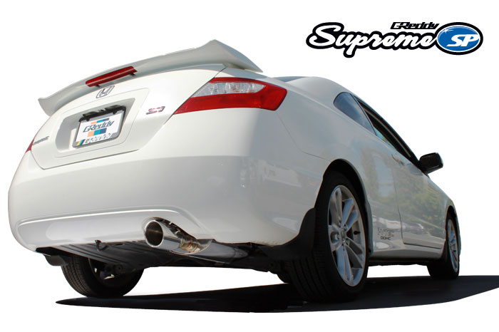 GReddy Racing 06-11 Civic Si Coupe Supreme SP Exhaust
