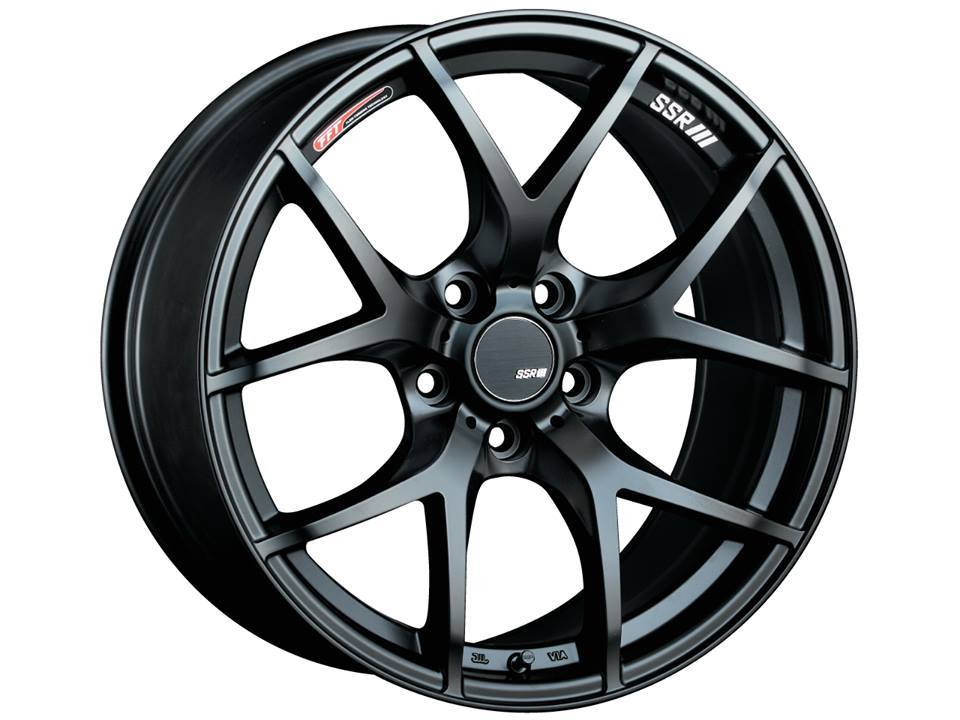 SSR GTV03 Flat Black Wheel: 17x7.0 +42