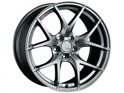 SSR GTV03 Phantom Silver Wheel: 17x7.0 +50