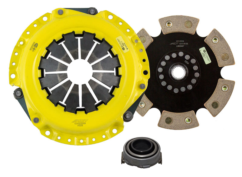 ACT 06-15 Civic 1.8L HD/Race Rigid 6 Pad Clutch Kit