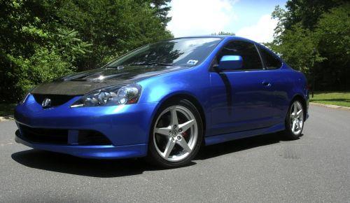 Seibon RSX MG Style Carbon Fiber Hood K Series Parts - Acura rsx hood