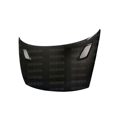 Seibon 06-11 Civic Coupe MG Style Carbon Fiber Hood-A1