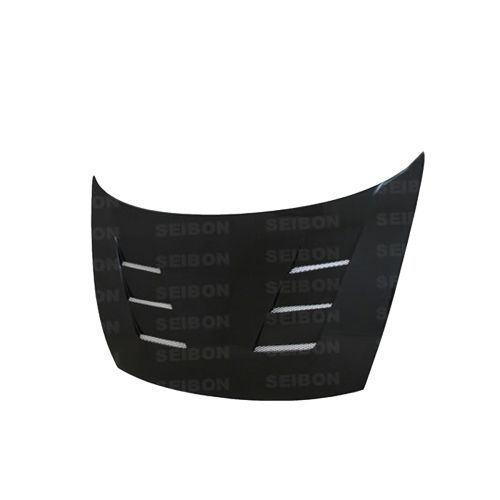 Seibon 06-11 Civic Sedan TS Style Carbon Fiber Hood-A1