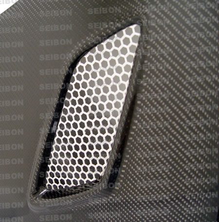 Seibon 06-11 Civic Coupe MG Style Carbon Fiber Hood-A2