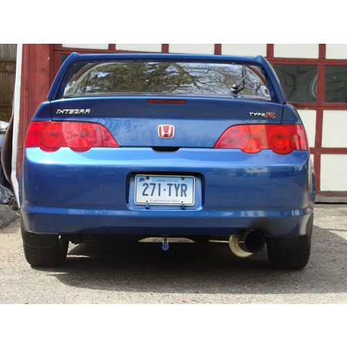 HKS 02-06 RSX Base HI-Power Cat-Back Exhaust-A7