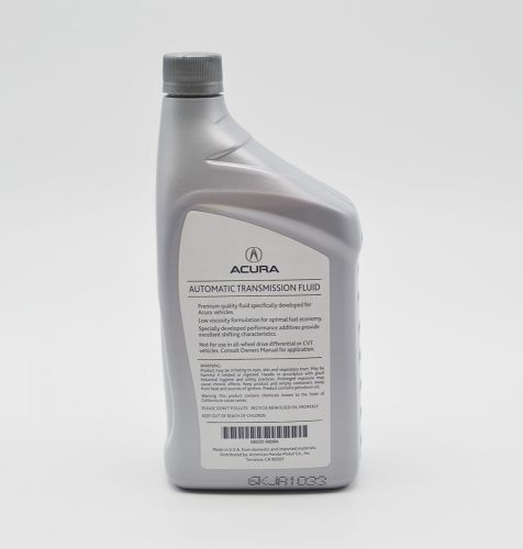 Acura Automatic Transmission Fluid ATF-DW1: 1 Quart: K