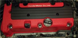 Honda Black Spark Plug Cover and Hardware Package