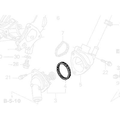 Honda K-Series Thermostat Seal