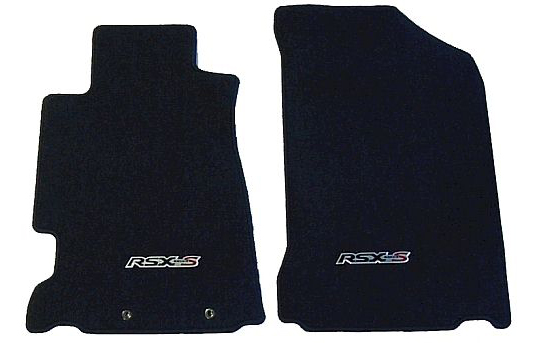 Acura RSX Type S OEM Front Floor Mats Set: Black