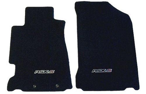 Acura Rsx Type Oem Front Floor Mats Set Black Series Parts
