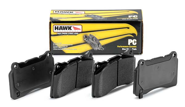Hawk Ceramic Brake Pads: Front